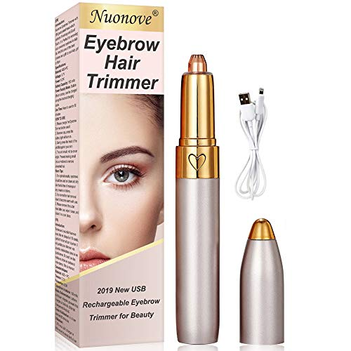 Eyebrow shaving, eyebrow trimmer, electric eyebrow trimmer, USB eyebrow trimmer, led light eyebrow remover, lipstick design, ...
