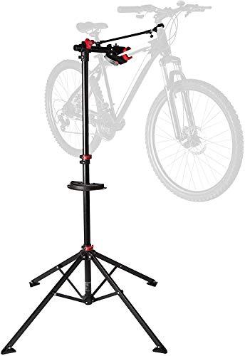 Ultrasport Fahrradmontageständer Expert, robuster Fahrradständer, auch fürs Mountainbike –Reparaturständer für Fahrräder aller Art bis 30 kg, mit sinnvollen...