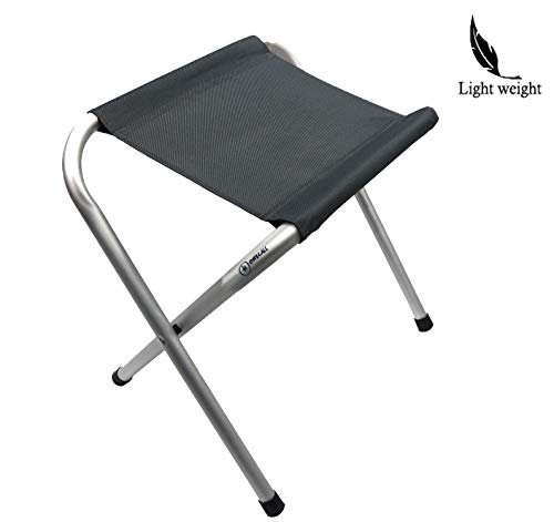 Homecall Camping Folding Stool in Aluminum - (Gray)
