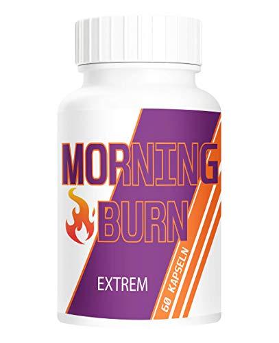 PowerSupps MORNING BURN EXTREM Kapseln für Männer und Frauen hochdosiert und vegan - die Kapsel für den Tag – STOFFWECHSEL – ENERGIE – STARK
