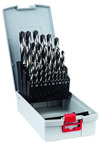 Bosch Professional 25tlg. HSS Spiralbohrer PointTeQ Set (für Metall, ProBox, Zubehör Bohrschrauber)