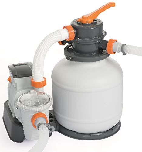 Bestway Flowclear Sandfilteranlage mit ChemConnect und Zeitschaltuhr, 3,785 l/h