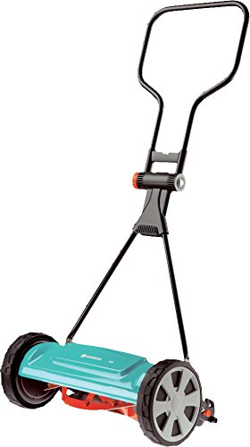 GARDENA Classic Spindle Mower 400: 40 manual lawn mower with working width for up to 200 m² lawn area, knife steel made of quality steel, non-contact ...