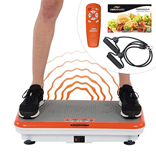 Mediashop VibroShaper - fitness vibration plate brings the body into shape - vibration trainer for different muscle groups | The original from TV ...