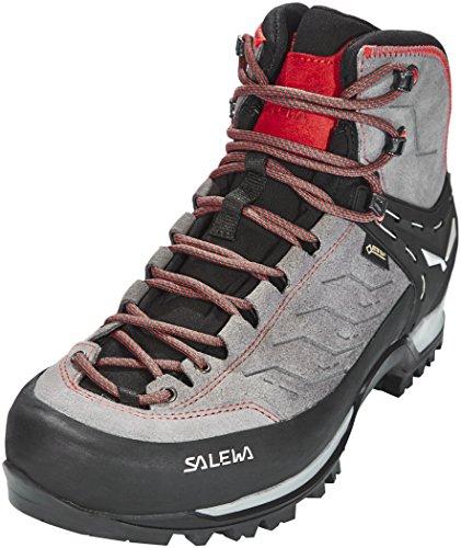 Salewa Herren MS Mountain Trainer Mid Gore-TEX Trekking- & Wanderstiefel, Charcoal/Papavero, 41 EU
