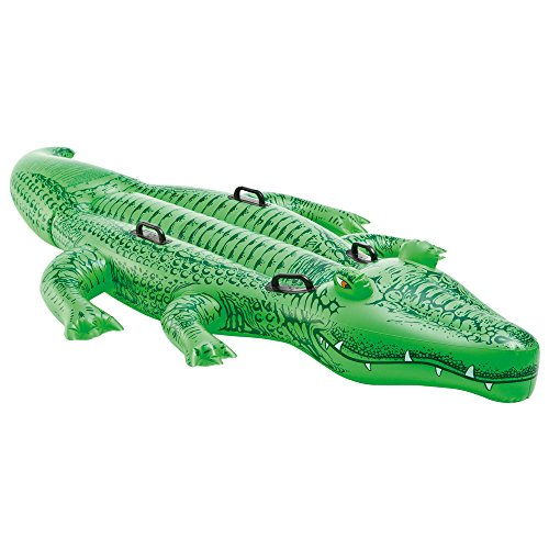 Intex Giant Gator Ride-On - Aufblasbarer Reittier - 203 x 114 cm