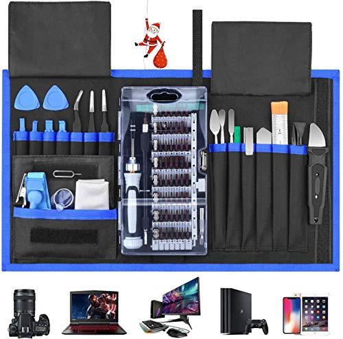 Schraubendreher Set 87 in 1 Magnetischer Präzisions-Schraubendreher-Satz Werkzeug Reparatur-Set für Smartphones Tablets, PCs, Konsolen, Kameras, Uhren,...