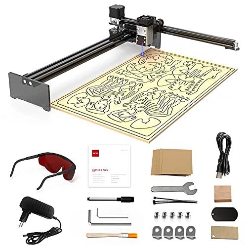 NEJE Master-2s 30 W Plus Lasergravierer Schneidemaschine Professionelle Lasergravur maschine Zoomobjektiv CNC-Laserschneiderdruck Carving Arduino Große...