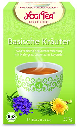 10 x YOGI TEA BIO Basische Kräuter (= 10er Pack)