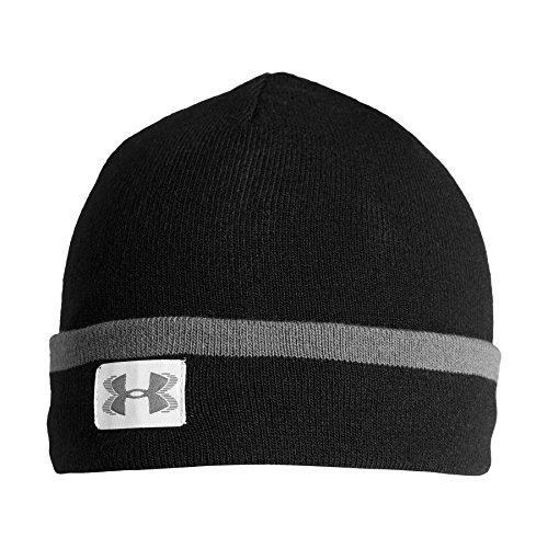 Under Armour Herren Sportswear Hut Cuff Sideline Beanie, Black, One Size
