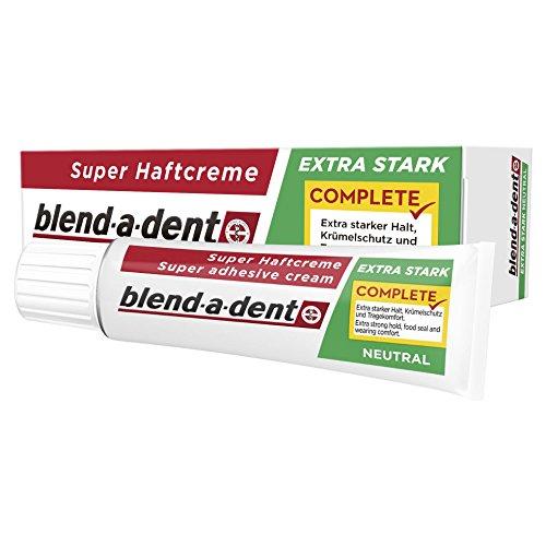 Blend-a-dent Super-Adhesive Cream Täydellinen erittäin vahva - neutraali, 12-pakkaus (12 x 47 g)