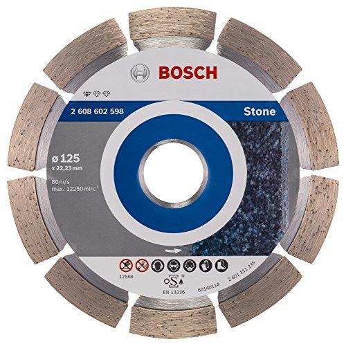 Bosch Professional 2608602598 Diamanttrennscheibe Standard für Stone zum Schneiden von Granit und Naturstein