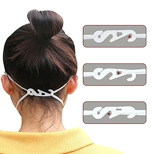 BSTQC Maskenhalter, 20 Stück, verstellbare Ohrgriffe, Verlängerungshaken für Gesichtsmasken, Schnalle für Mund-Gesichtsbedeckung