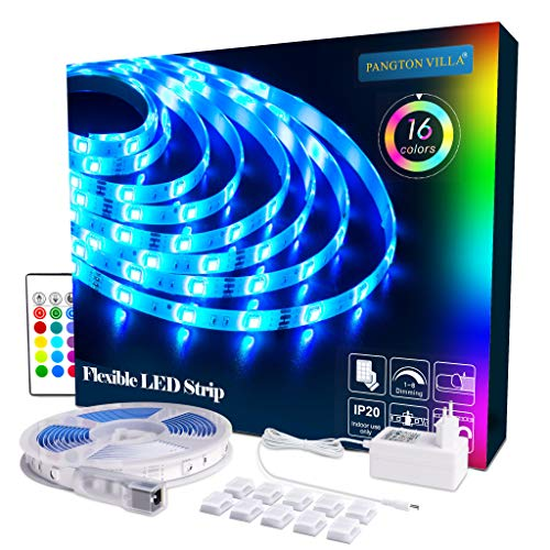 LED strip RGB 5m LED light strip SMD 5050 Leds with power supply, remote control Led stripes strip lighting strip lighting, MULTIWAY