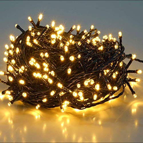 23m 360er LED Niedervolt Lichterkette wasserdichte dekorative Leuchten LED String Licht Wünderschöne Deko für Weihnachten, Hochzeit, Zuhause, Garten, Balkon,...