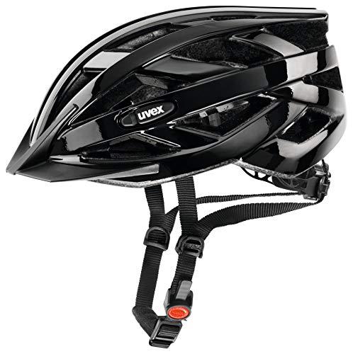 uvex Unisex– Erwachsene, i-vo Fahrradhelm, black, 56-60 cm
