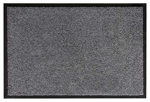 andiamo Schmutzfangmatte Fußabtreter Türmatte Fußmatte Sauberlaufmatte Schmutzabstreifer Türvorleger – Eingangsbereich In/Outdoor – rutschhemmend waschbar...
