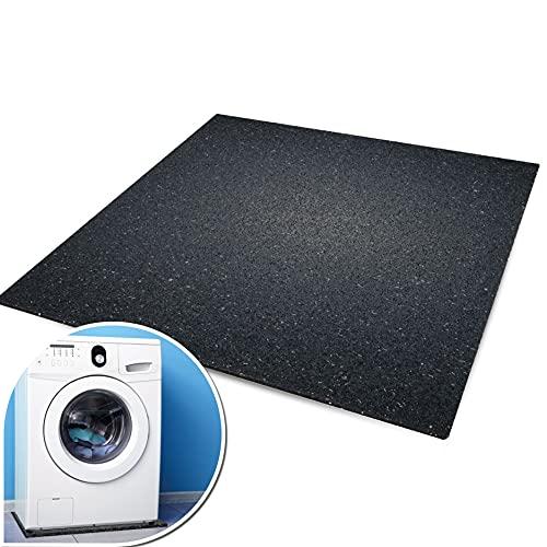 kör4u® Premium Antivibrationsmatte | 60x60x1 cm | geeignet als Waschmaschinenunterlage, Schallschutzmatte, Gummimatte, Schwingungsdämpfer - zuschneidbar | made in...