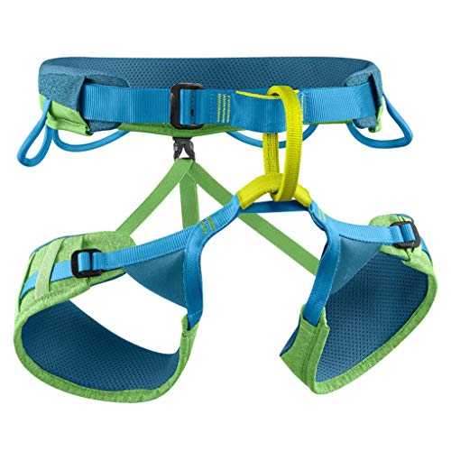 EDELRID Allround climbing harness Jay 3 seat harness, length: M, color: Green Pepper (785)