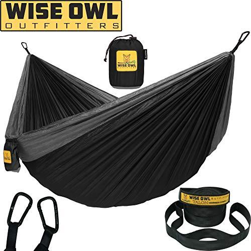 Wise Owl Outfitters Hängematte - Einzel- und Doppel Camping