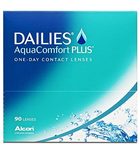 Dailies AquaComfort Plus Tageslinsen weich, 90 Stück / BC 8.7 mm / DIA 14.0 / -3,50 Dioptrien