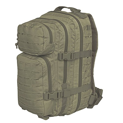 Mil-Tec US Assault Pack Large Laser Cut Oliv