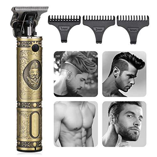 Electric Beard Trimmer for Men, GLAMADOR Blonde Beard Trimmer & Hair Trimmer, Beard Hair Trimmer Shaver, Precision Trimmer, Portable ...