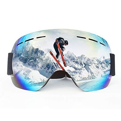BSET BUY Ski Goggles Snowboard Goggles Outdoor Sports Glasses for Wearers Men Women Adults Teens OTG UV Protection Compatible Helmet Anti Fog ...