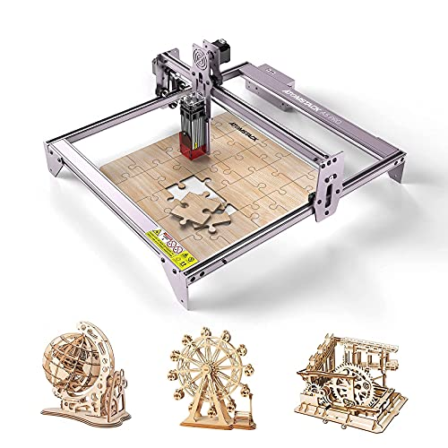 ATOMSTACK A5 Pro Laser Graviermaschine, 40W Graviermaschine Laserengraver, Compressed Spot CNC-Holzfräser Carving DIY Laser Master, Augenschutz...