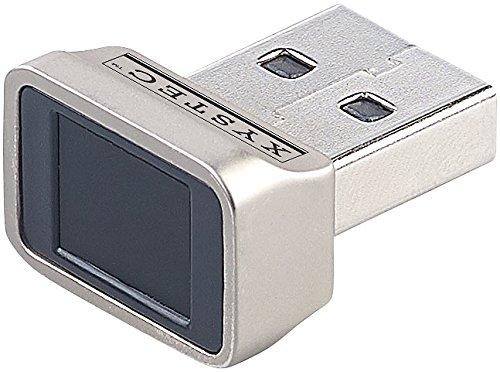 Xystec Fingerabdruckscanner: Finger-Abdruck-Scanner für Windows 7, 8, 8.1 & 10, mit 360°-Erkennung (Fingerscanner)