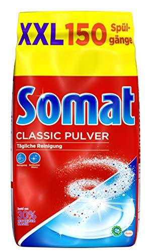 Somat Classic Pulver, Spülmaschinenreiniger, Großpackung, 1 x 3 Kg, für die tägliche Reinigung