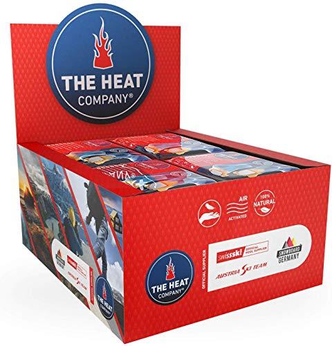 THE HEAT COMPANY Fußwärmer - 40 Paar - EXTRA WARM - klebend - Zehenwärmer - 8 Stunden warme Füße - sofort einsatzbereit - luftaktiviert - rein natürlich - für...