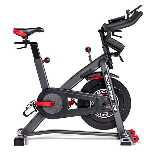 Schwinn Speedbike IC8 mit Bluetooth Indoor Cycle mit Magnetwiderstand, 100-fache Widerstandseinstellung mit Digitalanzeige, Zwift App. kompatibel, SPD-Klickpedale,...