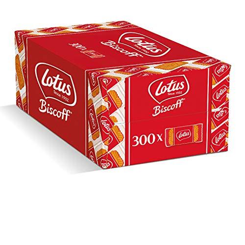 Lotus Biscoff Karamellgebäck - [1x] 1875g - [300x] Stück - einzeln verpackt - mit besten Zutaten - ohne Farbstoffe - vegan