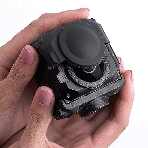Holaca Schutzhülle für Garmin Virb 360 Kamera, Silikon-Hülle für Garmin Virb 360 robust, wasserdicht, 360-Grad-Kamera