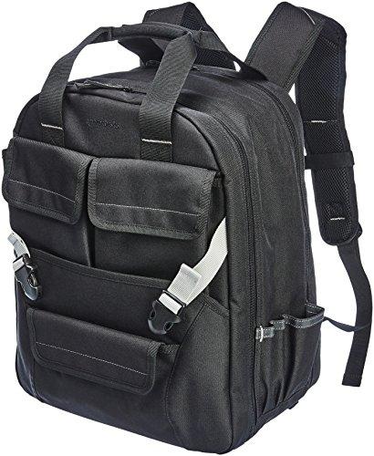 AmazonBasics - Werkzeugrucksack, 51 Fächer mit verstellbarem Frontbeutel