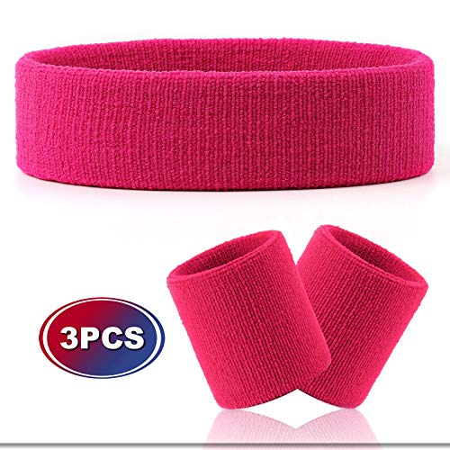 VENI MASEE Sportline Sweatband, Terry Bracelet, Wristbands, Sweatbands (Price for a single item)
