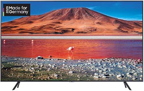 Samsung TU7079 138 cm (55 Zoll) LED Fernseher (Ultra HD, HDR 10+, Triple Tuner, Smart TV) [Modelljahr 2020]