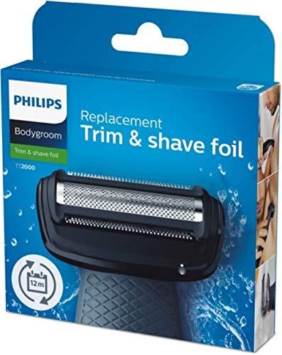 Philipsin korvaava parranajokalvo (soveltuu kaikkiin TT20- ja BG-sarjan TT2000 / 43-kehonurkkausmalleihin)