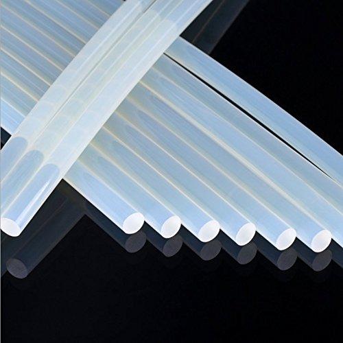 MCTECH® 100 Stück (ca. 2 Kilo) DIY Heißklebesticks Klebestifte Ersatzsticks 11x200 mm Klebesticks für Heißklebepistolen (2 kg)