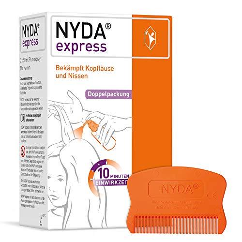 NYDA express -hoito - nopea ja tehokas päätäitä ja nittejä vastaan, 2x50 ml