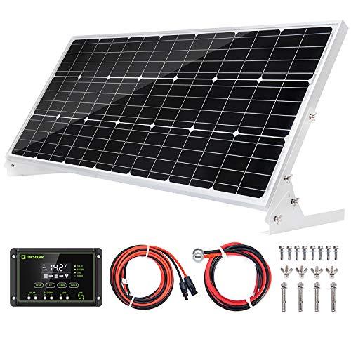 Solarpanel 100 Watt 12 Volt Monokristalline Solarmodul Hohe Effizienz 100W 12V Mono Modul RV Marine Boot Off-Gitter