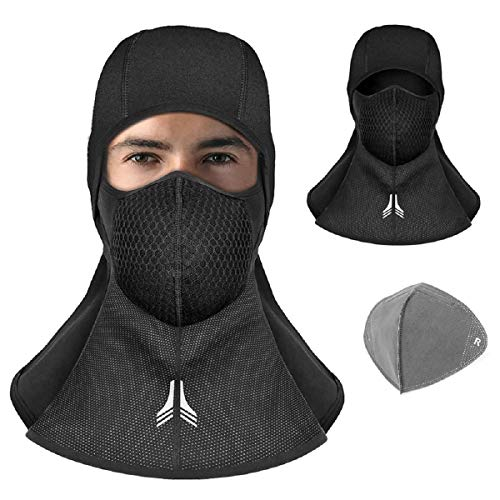 innislink Sturmhaube, Atmungsaktive Sturmhaube Balaclava Fahrrad Motorrad Ski Winter Skimaske, Sturmmaske Gesichtsmaske Winddicht Warme Fleece Motorradmaske,...