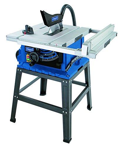 Scheppach Profi Tischkreissäge HS105 (2000W, Sägeblatt Ø 255mm, Schnitthöhe 75mm, Tischgröße mit Verbreiterung 640 x 920 mm, hochwertig, robust) inkl....