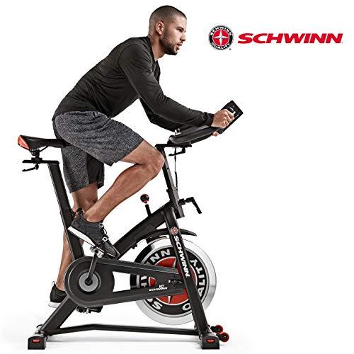 Schwinn Speedbike IC7 Fitnessbike mit LCD-Display, stabile Rahmenkonstruktion, Tablethalterung, 18 kg PWD Schwungrad, drahtlose Herzfrequenzmessung, max....