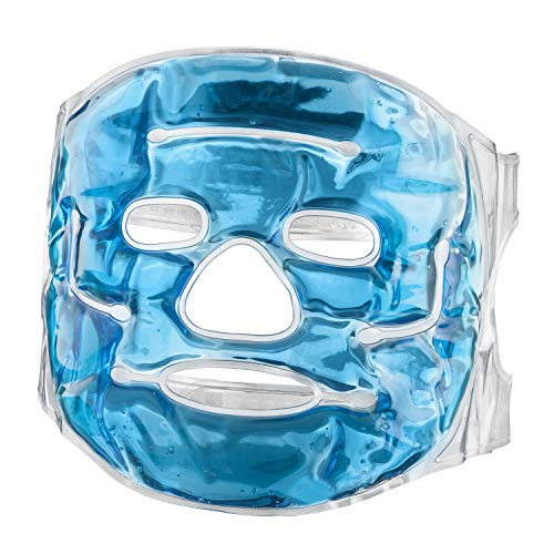 Felunda Feluna Gel-Gesichtsmaske Entspannungsmaske Wellnessmaske für Kältetherapie Gelmaske Kühlmaske für Sonnenbrand & Allergien Kühlbrille Entspannungsmaske...
