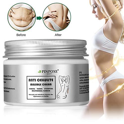 Cellulite Creme, Anti Cellulite, Cellulite massage Creme, Firming Creme, straffende Crème aktiviert die Haut zur Verbesserung der Hautkontur, Hilfe Bei Orangenhaut...