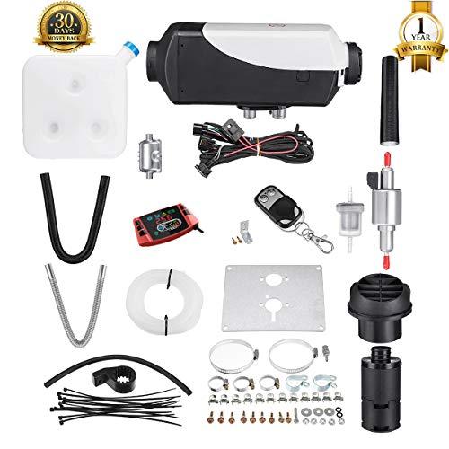 Tseipoaoi Standheizung,12V 5KW Diesel Standheizung Luftheizung mit LCD-Monitor & Fernbedienung,Dieselheizung Für Wohnmobil Auto KFZ LKW PKW