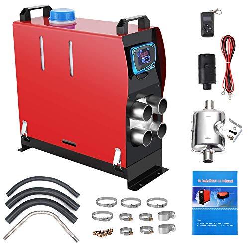 Anbull 8KW Air Diesel Heizung Air Standheizung, 12V Diesel Luftheizung Kraftstoff Auto Heizung Lufterhitzer Dieselheizung mit Fernbedienung LCD Monitor für RV,...