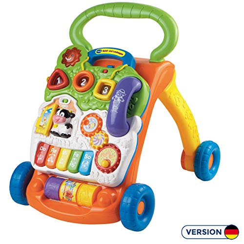 VTech Baby 80-077064 - Game and Carriage, Normal, Multi-Green / Orange